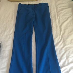 Express Blue Dress Pants